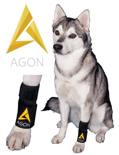AGON FRONT DOG LEG KNEE BRACE- INJURY SUPPORT USA WRAP CANINE K9