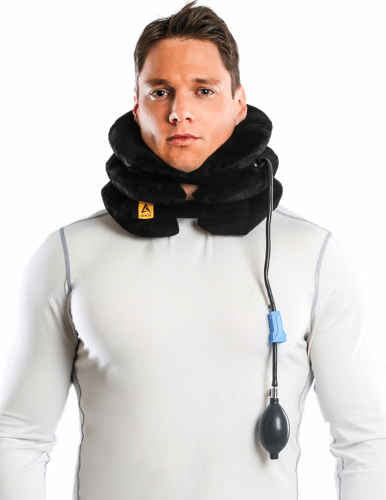 agon best neck traction device support brace travel pillow u0026 flights cushion
