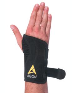 fitted wrist brace