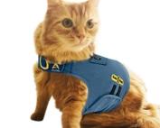 dog anxiety vest gray kitten